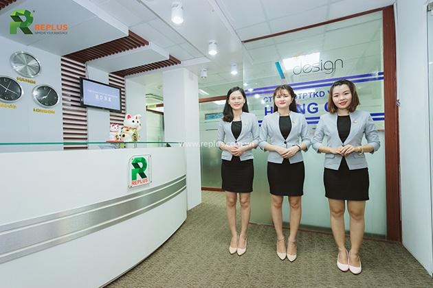 Replus receptionist