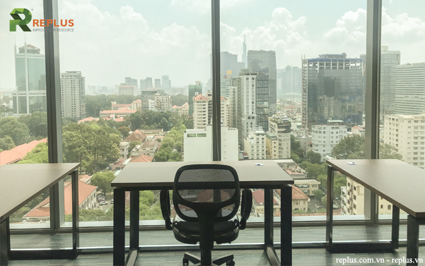 nice view from Replus office
