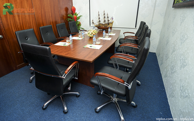 Meeting room which always available when you use our virtual office service