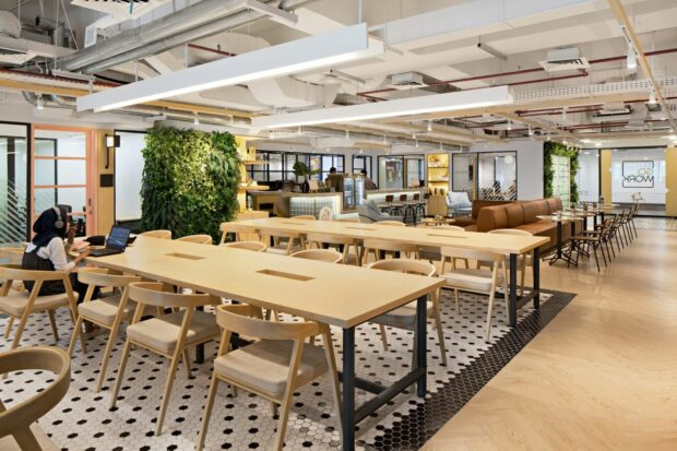 Co-working space in HCMC